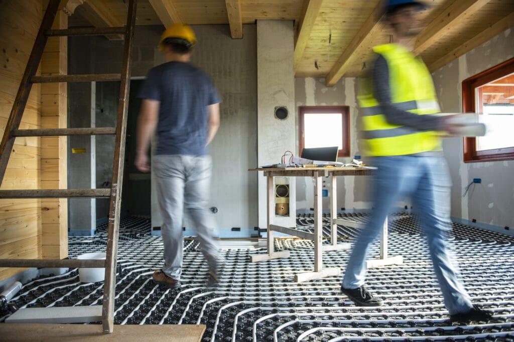 Jak założyć ogrzewanie podłogowe w kuchni i łazience?